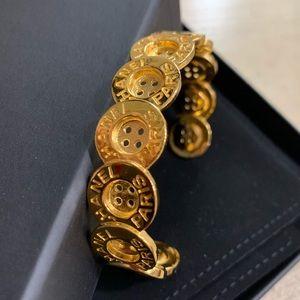 Chanel 20A button bracelet